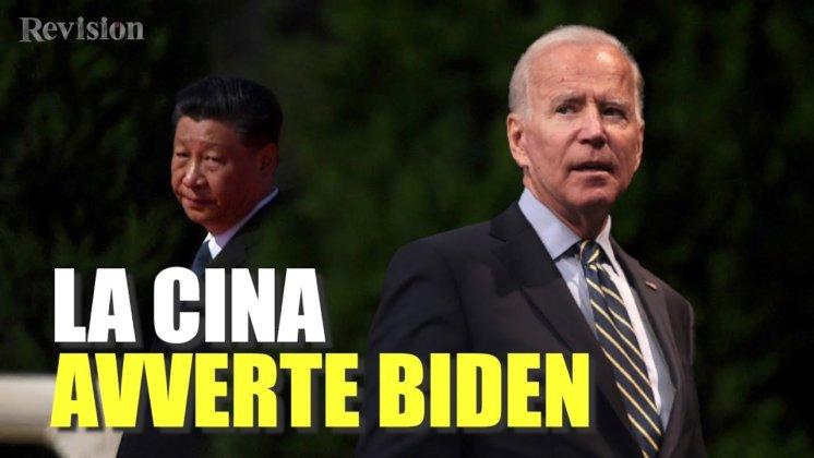 Video: la Cina dice agli Usa che non devono superare la 'linea rossa'