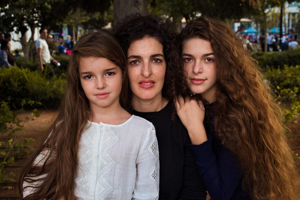 Madre e figlie in Israele