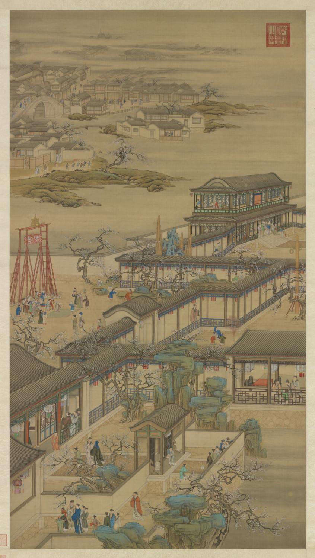Dipinto dinastia Qing