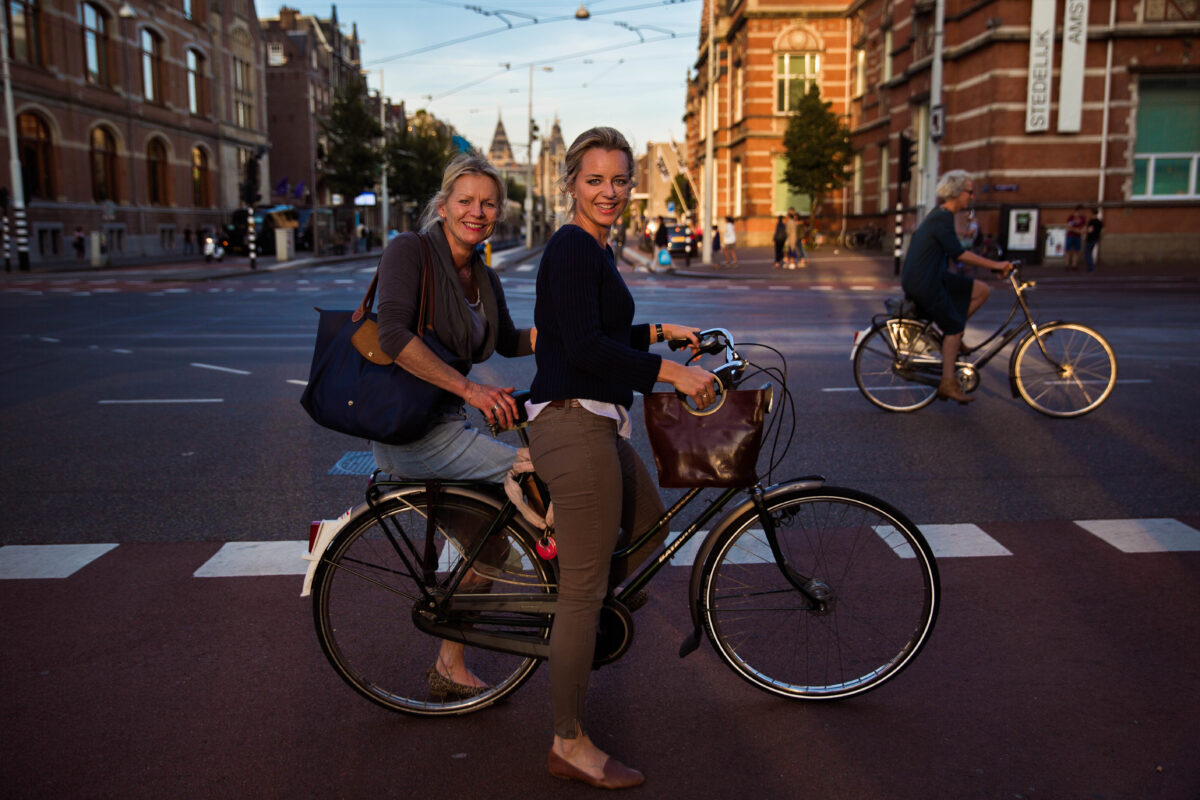 Mamma e figlia ad Amsterdam