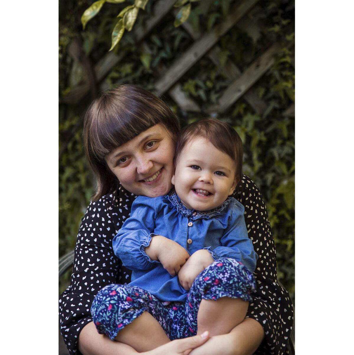 Mihaela e sua figlia Natalia