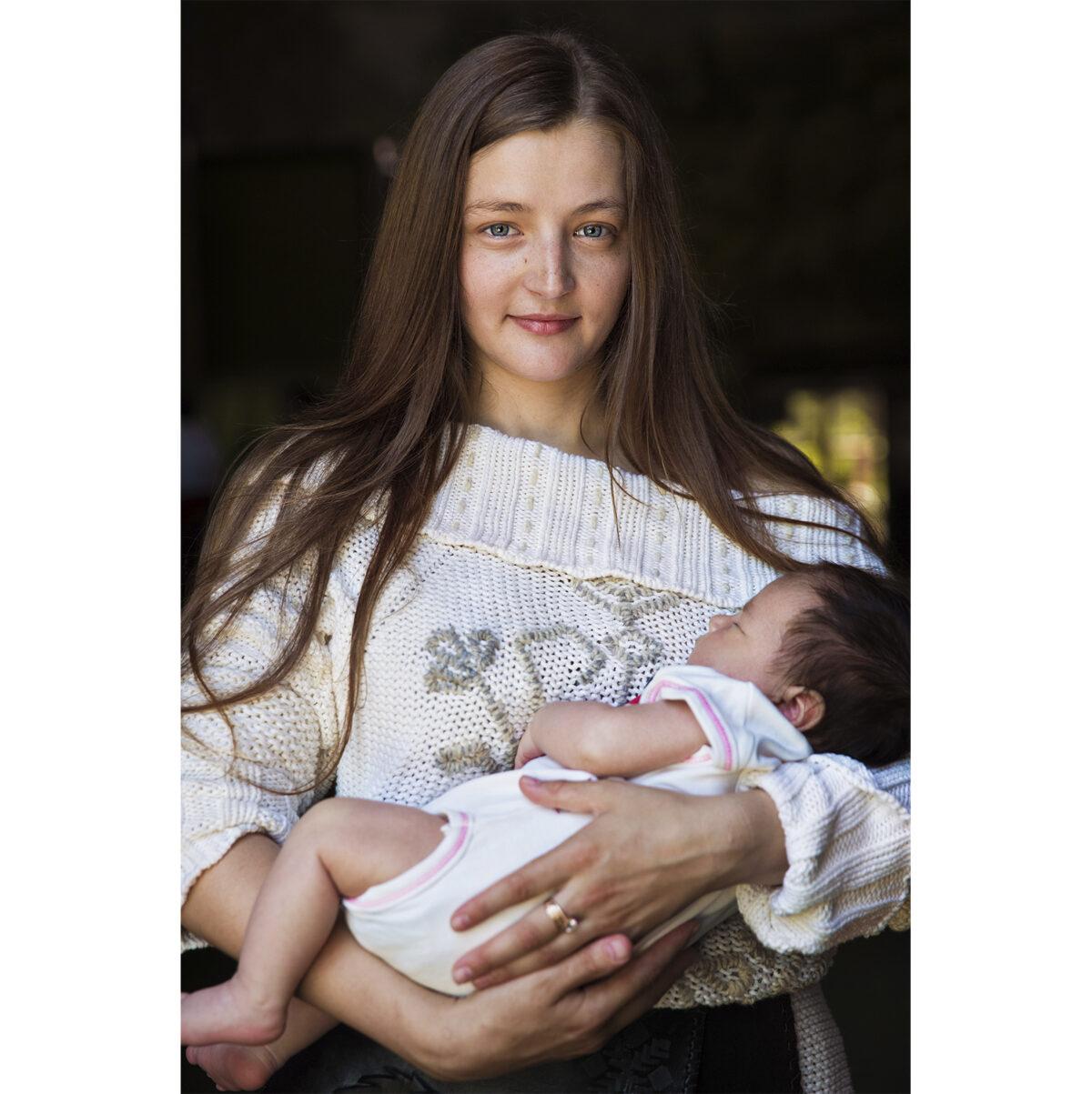 Mamma in Moldavia