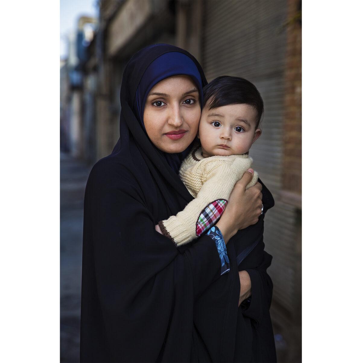 Leila e suo figlio Abtin