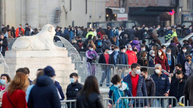Italia in lockdown, da lunedì oltre 10 regioni in zona rossa