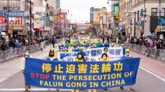 Il regime cinese «prospera sull'apatia»: parata a New York contro la persecuzione del Falun Gong