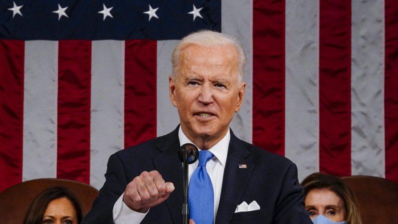 Biden pronuncia il discorso dei 100 giorni alla sessione congiunta del Congresso