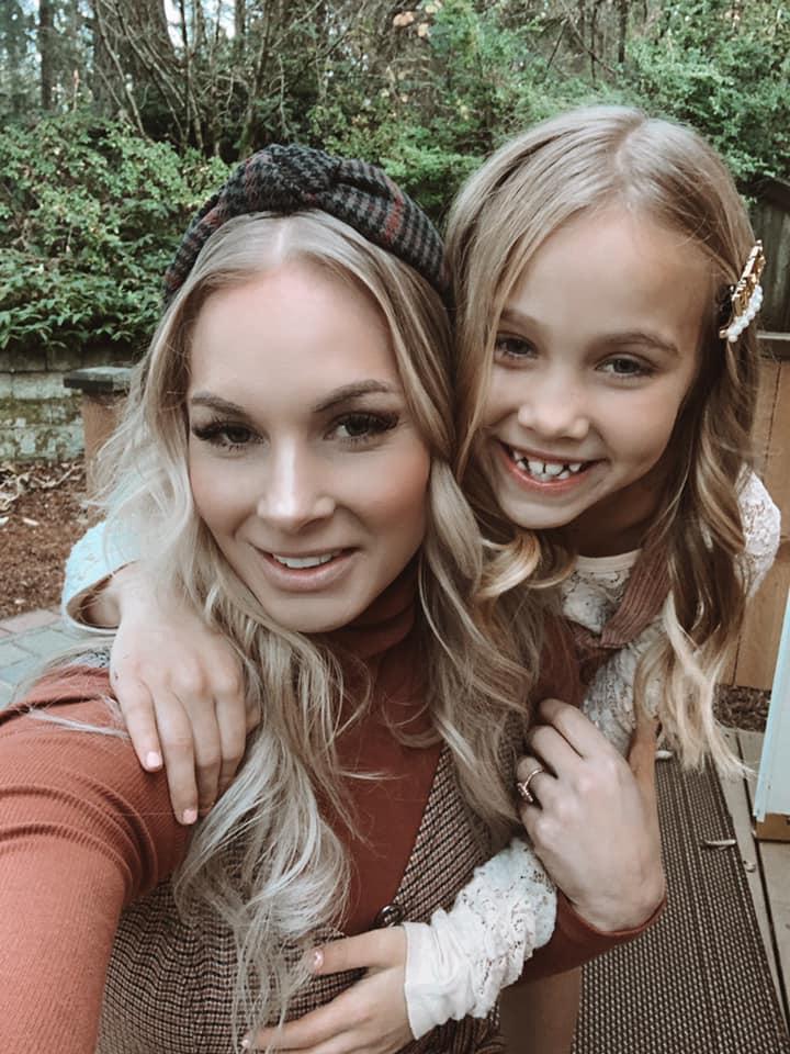 Desiree e sua figlia