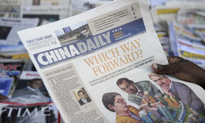 La propaganda del regime cinese in occidente