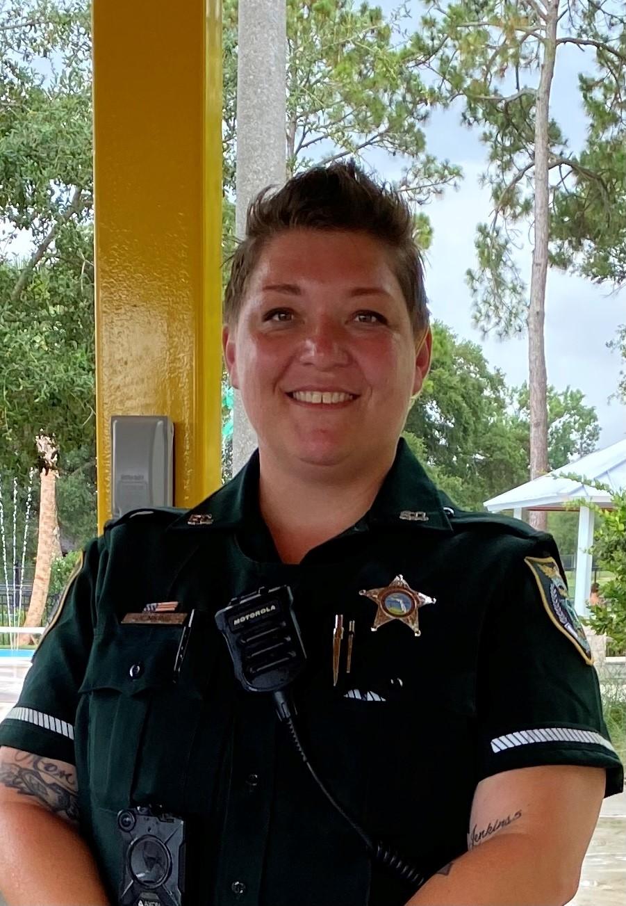 L'agente Laura Jenkins