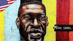 "La ""Mano di Dio"" fulmina il murale di George Floyd?   Ntd News"
