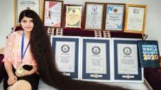 Una vera Raperonzolo, Guinness World Record per i capelli più lunghi