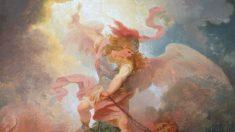 La bontà del cielo è la chiave: «L'angelo che lega Satana»