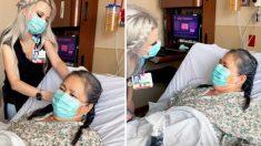 Las Vegas, infermiera spazzola e acconcia i capelli dei malati nei giorni liberi