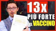 Immunità naturale vs. vaccino, studio israeliano mostra una differenza di 13 volte
