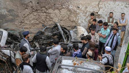 Esercito Usa ammette l'errore: uccisi 10 civili innocenti nell'attacco aereo a Kabul