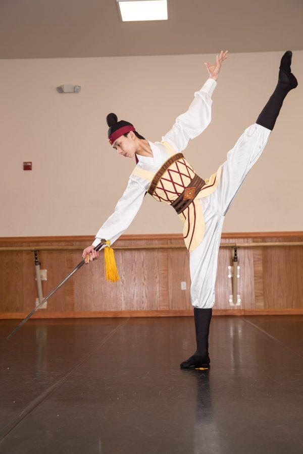 Ballerino di danza classica cinese