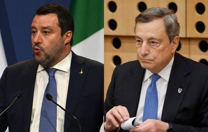 Salvini contro Draghi sulla revisione del catasto: «È una patrimoniale nascosta»