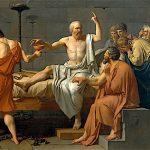 La Morte di Socrate di J.L. David (pubblico dominio)